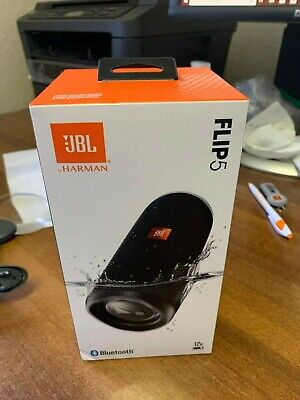 New JBL Flip 5 Wireless Portable Waterproof Bluetooth Stereo Speaker Black