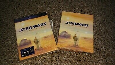 Star Wars The Complete Saga 9 Disc Blu Ray Mint!! 1st Issue 2011