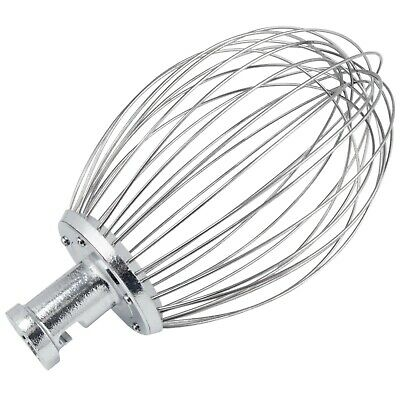 Hobart Equivalent Classic Stainless Steel Dough Wire Whip for 30 Qt. Bowls