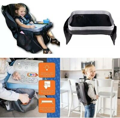 Travel Lap Desk Tray Modfamily Universal Fit Car Seat Stroller Airplane Organize