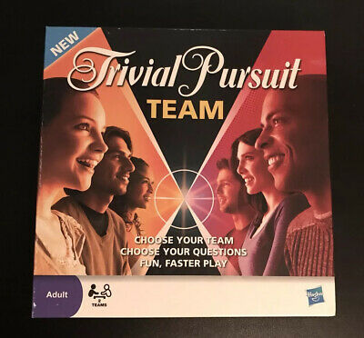 Trivial Pursuit Board Game - Team Edition - Hasbro - Great Condition