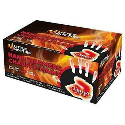 NEW Little Hotties Air Activated Warmers - 40 Hand Warmers