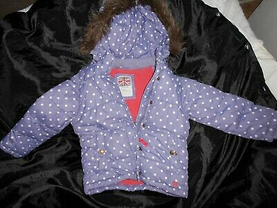 Girls Mini Boden Spotted Jacket/Gilet Age 5-6 Years -