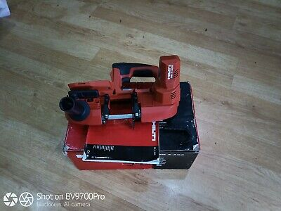 HILTI SB 4-A22 CORDLESS BAND SAW, 22v(boxed in superb condition)