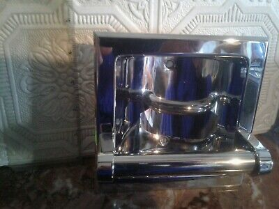 RECESSED SOAP HOLDER POLISHED CHROME 5 1/2 x 5 1/2 in.