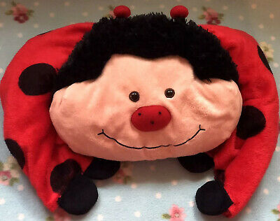 Pillow pets Ladybird Blanket And Pillow Combined very cute, cuddly and snuggly