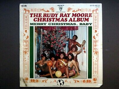 Dolemite The Rudy Ray Moore – Merry Christmas, Baby SEALED ORIGINAL LP!