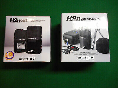 Zoom H2n Handy Recorder + APH-2n Accessory Pack Set H2next