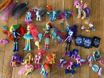 My Little Pony Bundle Equestria Girls , Fashems  And More