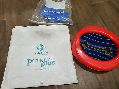 Potette Plus Toddler Port-A-Potty Travel Car Kids Toilet Seat 3 Bags