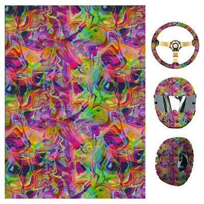 YS124 Water Transfer Hydrographic Film Hydro Dipping Self adhesive Decor Sticker