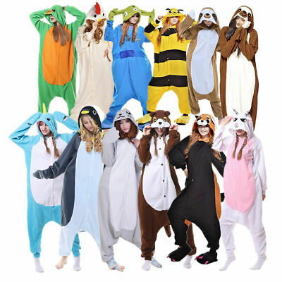 Kids Unicorn Kigurumi Animal Cosplay Costume Girls Boys Pajamas Sleepwear Xmas