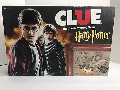 Clue Harry Potter The Classic Mystery Board Game 2016 Complete