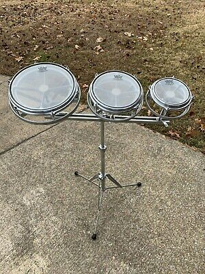 "6"" 8"" 10"" Roto Toms w/ stand"