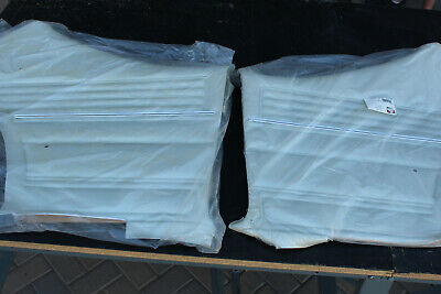 1968 Chevelle Coupe PUI Pearl White Interior Door Panels Rear Assmembled