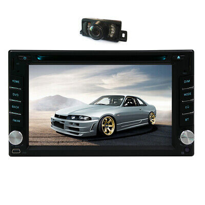 "6.2"" GPS Navigation 2Din Car Stereo DVD CD Player BT Auto Radio+Camera&Map"