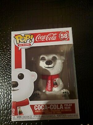 Funko Pop Ad Icons : Coca-Cola Polar Bear #58 Vinyl