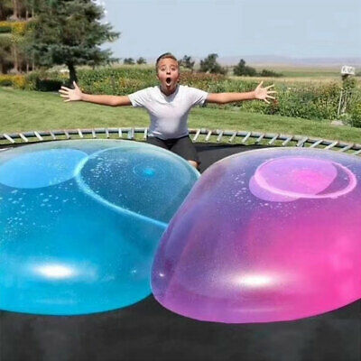 Air Ball Transparent Wubble Bubble Ball Super Soft Stretch Large Water Balloons