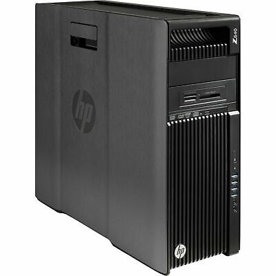 HP Z640 Workstation Xeon 24 core 2x E5-2670 v3 96GB DDR4 Quadro K4200 1TB SSD PC