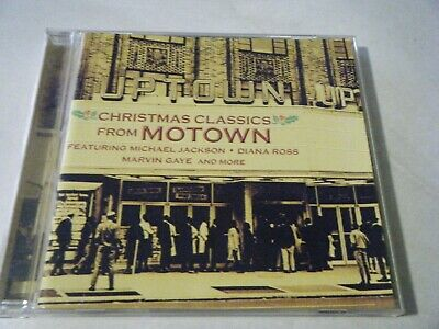 More Christmas Classics From Motown Cd Michael Jackson Diana Ross Marvin Gaye