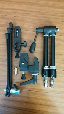 Manfrotto Magic Arm with Super Clamp and Camera Mounting Stud. Perfect.As New.