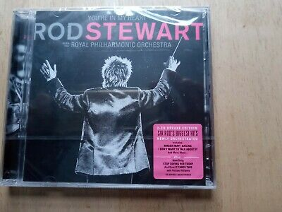 Rod Stewart with Royal Philharmonic Orchestra - You're in my Heart. New 2 x CD.