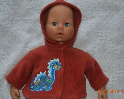 Dolls Clothes Jacket Fits  Baby Born , Annabell  Tiny Treasures Or Sim Dinosaur
