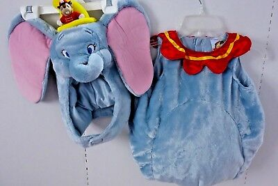 Disney DUMBO Plush Elephant Costume - Baby 12-18 Months