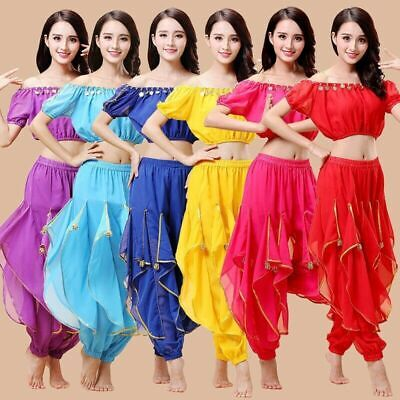 2020 Bollywood Princess Theme Belly Dance Costume Halloween Fancy Party Outfit