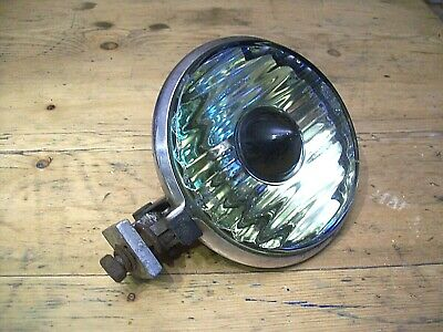 Vintage Notek Fog Light, Hot Rat Rod, Lambretta, Vespa, Classic Car, Working