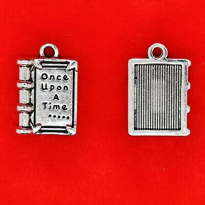 6 x Tibetan Silver Once Upon A Time Fairy Tale Fairytale Story Charms Pendant