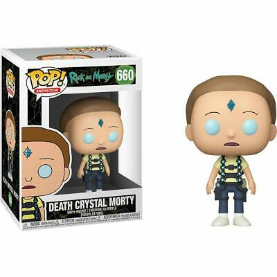 Rick & Morty - Death Crystal Morty - Funko Pop - Brand New - Tv 44249