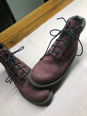 Timberland Stiefel 37 In weinrot