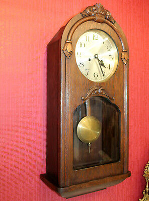 Antique Wall Clock Chime Clock Regulator 1920th century *KIENZLE*