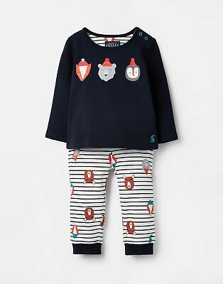 Joules Baby 207338   Long Sleeve Screenprinted Outfit Set in  Size 3min6m