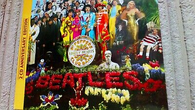 The Beatles - Sgt. Peppers Lonely Hearts Club Band 2X Cd Album 50Th...