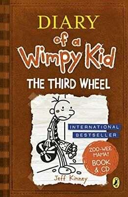 Diary of a Wimpy Kid: The Third Wheel book & CD by Kinney, Jeff Book The Cheap