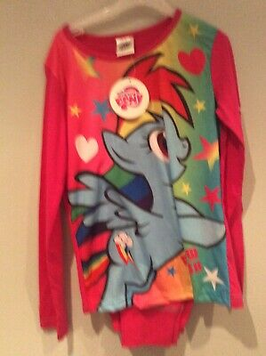 New My Little Pony Long Leg Pjs Age 9/10 Yrs