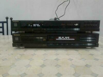 Compact Disc Cd Player Et Tuner Technics