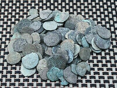Lot 100 Ancient Roman Imperial And Provincial Uncleaned Bronze Coins