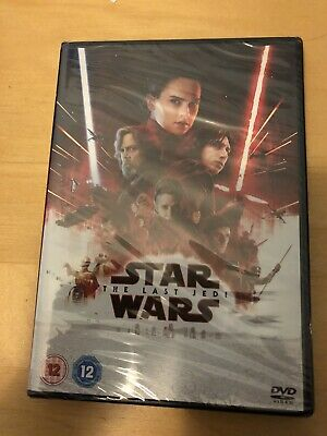 Star Wars: The Last Jedi [DVD] [2017] Brand New Sealed