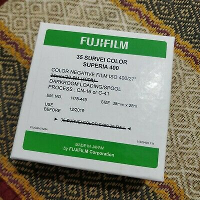 Fujifilm Superia 400 35mm Film Bulk Can 28M