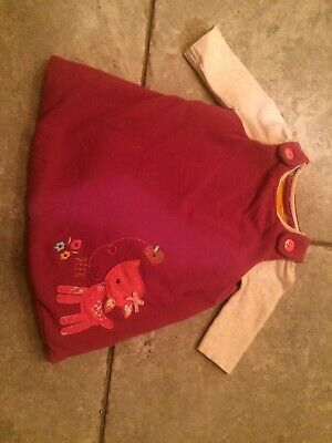 Girls Mothercare Dress Outfit New Born 0-3 Months