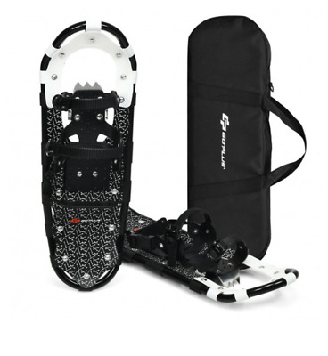 """30"""" All Terrain Snow Shoes Lightweight Aluminum w/ Carrying Bag Hiking Trail NEW"""