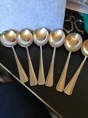 "EPNS A1 Silver Plate Cutlery -  Design - Soup Spoon / Spoons -  6"" x 6"