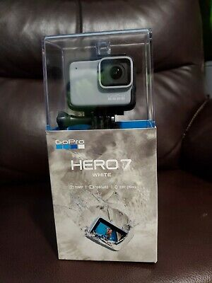 GoPro HERO7 White Waterproof Action Camera Touch Screen 1080p HD Video 10MP