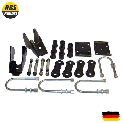 Leaf Spring Mounting Kit, hinten Jeep YJ Wrangler 87-95 52006421K