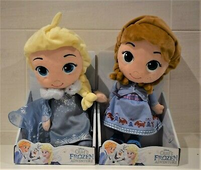 DISNEY FROZEN 2 CHARACTERS ELSA  or ANNA  CUTE SOFT TOY By POSH PAWS