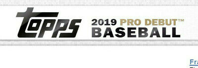 2019 Topps Pro Debut Complete Baseball 200 Card Base Set LIVE & READY SHIPS NOW