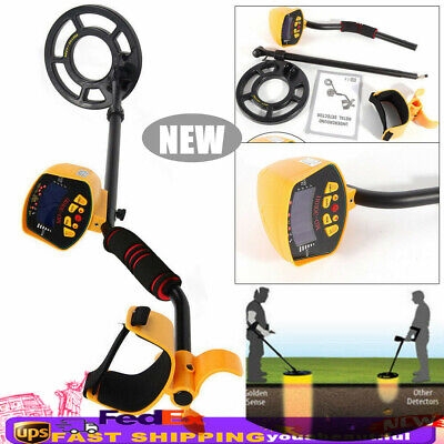 MD-3010II Waterproof LCD Digital Metal Detector Deep Sensitive Gold Digger Hunte